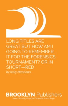 LONG TITLES ARE GREAT BUT HOW AM I GOING TO REMEMBER IT FOR THE FORENSICS TOURNAMENT? OR IN SHORT-RED